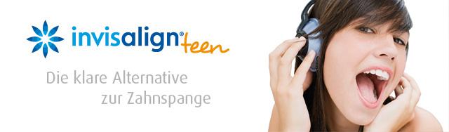 Invisalign Teen - unsichtbare Zahnspange für Kinder