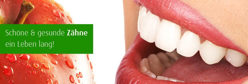 Schöne Zähne sehen nicht nur gut aus, sonder sind auch gesund